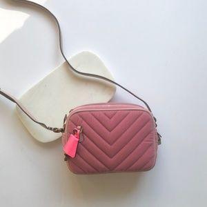 Brand New J Crew Pink Velvet Signet Bag